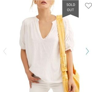 Free People Tops - Free People Fever Dream Tee size S